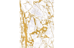 Crystalline Gold Embossed paper