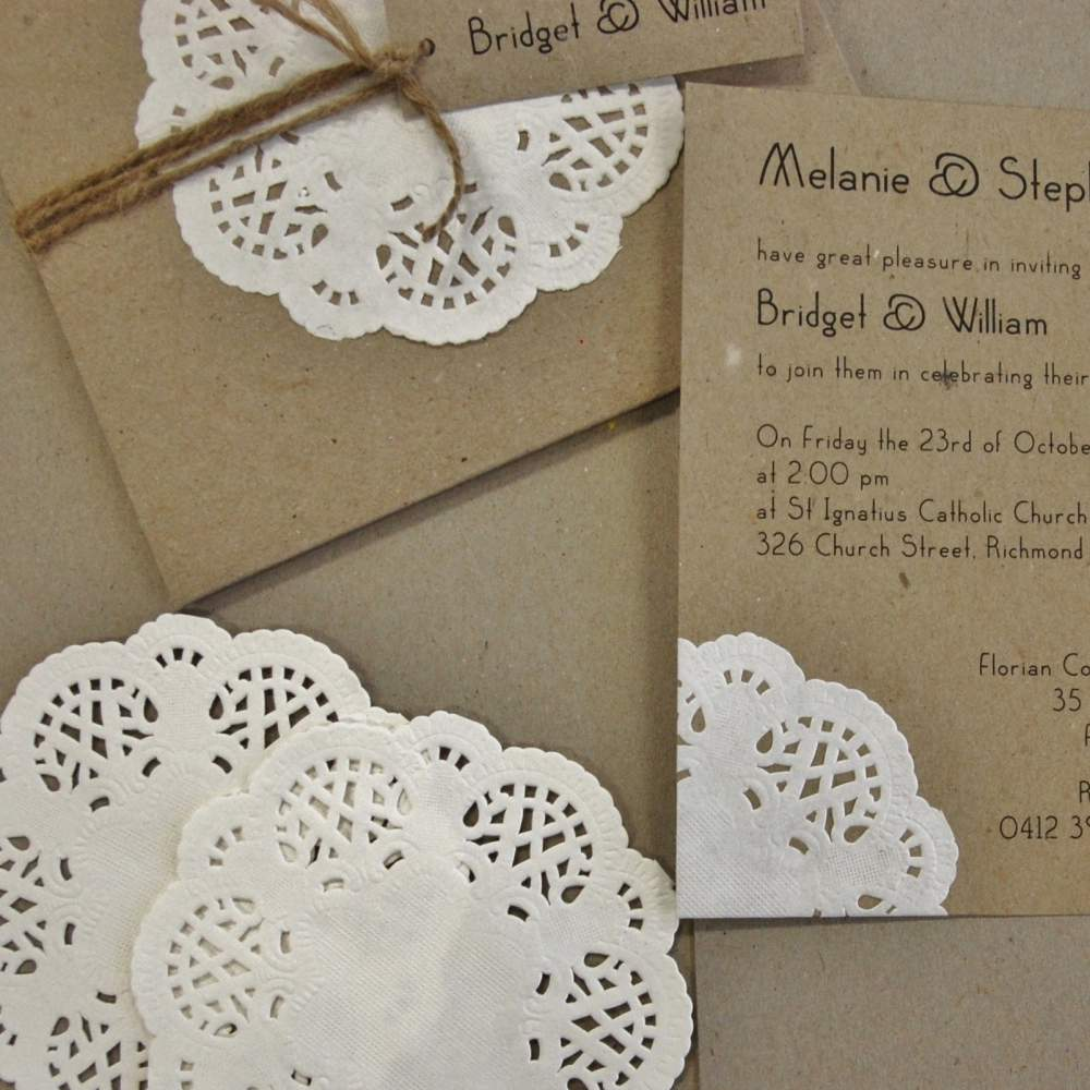 Paper Doily, Die Cut Paper Doily, Laser Cut, Rustic Invitations, Wedding Invitations, Discount Wedding Papers, DWP